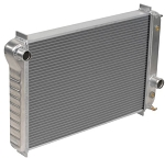 C4 Corvette 1984-1996 DeWitts Direct Fit Double Core Aluminum Radiator - 1 Row / 1.5in Tube