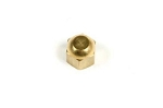C2 Corvette 1963-1967 AC Muffler Fitting Cap - Original Brass Hex Style