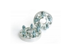 Aluminum 5-Lug Wheel Spacers - 20mm/.75 Inch - 5x4.75 - Pair