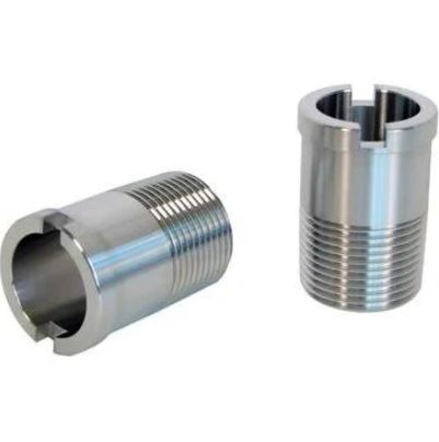 Stainless Steel Bypass Hose Fittings - Slotted w/ Size