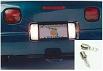 C2 Corvette 1963-1967 Halogen 50 Watt Backup Light Bulbs - Pair