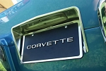 C2 Corvette 1963-1967 Rear License Plate Bezel