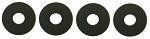 C3 Corvette 1970-1978 Seat Bottom Bumper Washer Set - 4 Piece