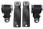 C3 Corvette 1972-1977 OE Style Retractable Lap Seat Belts - Pair