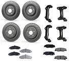 C6 Corvette 2005-2013 Z51 Brake Upgrade Set - For Base Models