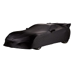 C7 Corvette 2014-2019 Premium Indoor Car Cover - Black with ZR1 Script