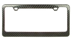 C6 Corvette 2005-2013 Carbon Fiber Look License Plate Frame