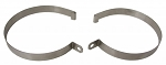 C2 Corvette 1963-1967 Expansion Tank Straps - Sold as a Set