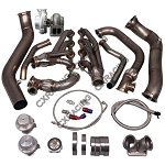 C6 Corvette 2005-2013 LS3 GT45 Turbo Manifold Header and Downpipe Kit