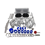 C6 Corvette 2005-2013 CXRacing LS3 Intercooler and Radiator Kit w/ Piping - For Turbo Setups