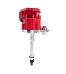 C3 Corvette 1975-1980 Chevy SB/BB V8 HEI Distributor 65K Volt Coil with Super Cap - Color Options