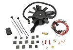 C4 Corvette 1985-1989 Engine Cooling Fan Conversion Kit for Cars w/o B4P Dual Cooling Fan