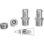 Stainless Steel KoolKitz - Hex - Small or Big Block - Kit & Finish Options