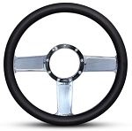Linear Billet Steering Wheel - Spoke & Color Options