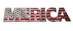 MERICA Stainless Steel Emblem - Finish Selection