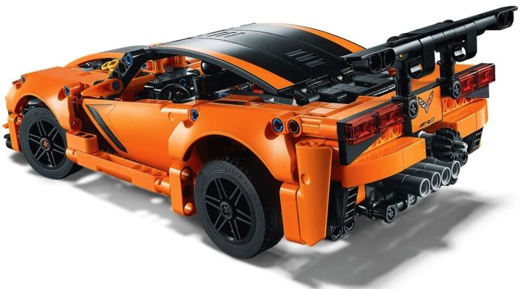 C7 Corvette Zr1 2014 2019 Lego Technic Set