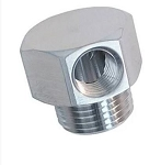 Vacuum Fitting - Single Port w/ Finish Options