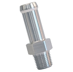 Stainless Steel Vacuum & Fuel Fittings - Hex w/ Size & Finish Options