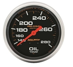 AutoMeter Pro-Comp 2-5/8 inch Mechanical Oil Temp Gauge, 140-280 deg F