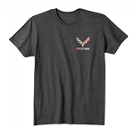 C5 C6 C7 Corvette 1997-2019 Z06 Tee - Heather Dark Gray