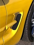 C5 Corvette 1997-2004 Side Fender Screens - Three Finish Options