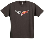 C6 Corvette 2005-2013 Distressed Logo T-Shirt