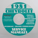 C3 Corvette 1968-1981 Service Manual - CD