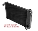 C3 C4 C5 C6 C7 Corvette 1968-2014+ Black Ice Coating for Direct Fit Aluminum Radiators