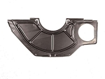 C2 C3 Corvette 1963-1972 Clutch Housing Inspection Cover - 327 or Heavy Duty