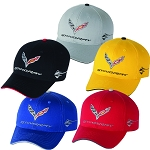 C7 Corvette Stingray 2014+ Exterior Paint Color Match Embroidered Cap