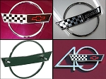 C4 Corvette 1993 & 1996 Special Hood Emblems - 3 Options
