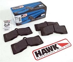 C2 C3 Corvette 1966-1982 Hawk HP Ceramic Street Brake Pads - Set of 4 - Front or Rear