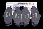 C2 C3 Corvette 1966-1982 Hawk HP Plus Ferro Carbon Brake Pads - Set of 4 - Fits Front or Rear