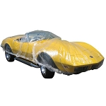 C3 C4 C5 C6 C7 Corvette 1968-2014+ Disposable Car Cover - Fits ANY Vehicle