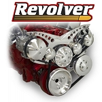 C3 Corvette 1968-1982 Revolver Alternator, A/C w/ Optional Power Steering Serpentine System - Small Block