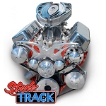 C2 C3 Corvette 1963-1982 Style Track Alternator, A/C & Power Steering Serpentine System - Big Block - All Inclusive Kit