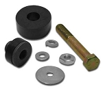 C2 C3 Corvette 1963-1979 Rear End Differential Mount Cushion & Bolt Kit - Front