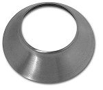 C2 C3 Corvette 1963-1982 Knock-Off Wheel Cone - Polished Stainless Steel