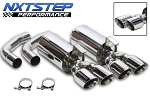 C4 Corvette 1984-1996 NXTStep Performance Axle Back Exhaust System