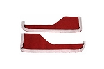 C4 Corvette 1984-1989 Carpet / Vinyl Door Panel Strips - Interior Color Options