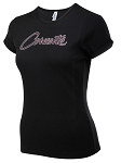 C3 C4 C5 C6 C7 Corvette 1968-2014+ Ladies CORVETTE Script Tee