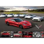 C7 Corvette Stingray/Z06 2014+ Jigsaw Puzzles - 1000 Pieces