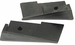 C3 Corvette 1969-1975 Convertible Door Lock Pillar Wedges - Pair