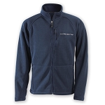 C7 Corvette 2014+ Knit Ironweave Sweater Full-Zip Jacket - Navy