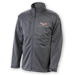 C6 Corvette 2005-2013 Soft Shell Jacket - Gray
