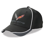 C7 Corvette 2014+ Hex Pattern Cap - Black / Graphite