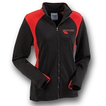 C6 Corvette 2010-2013 Ladies Grand Sport Bonded Jacket - Black & Red