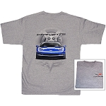 C6 Corvette 2005-2013 Blue Vette T-Shirt