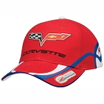 C6 Corvette 2006-2013 Z06 Red Indy Pace Car Cap