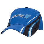 C6 Corvette 2009-2013 Royal Blue Vanishing Point ZR1 Cap